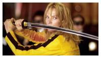 Uma Thurman dans Kill Bill